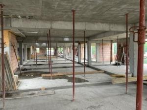 Zdjęcia z budowy nowych mieszkań w Busku-Zdroju