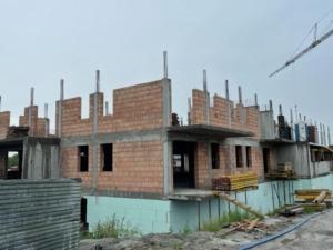 Busko-Zdrój, Zdjęcie z budowy 01.07.2021