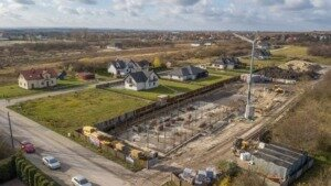 Zdjęcia z budowy z 20.11.2020 r.