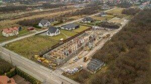 Zdjęcia z drona, budowa przy ul. Młyńskiej w Busku-Zdroju z 06.01.2021 r. (4)