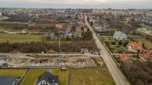 Zdjęcia z drona, budowa przy ul. Młyńskiej w Busku-Zdroju z 06.01.2021 r. (3)